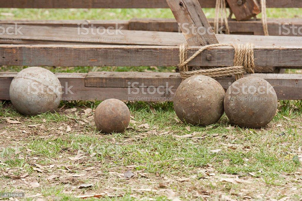 Steel Balls stock photo