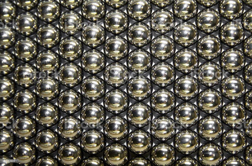 Steel Balls royalty-free stock photo