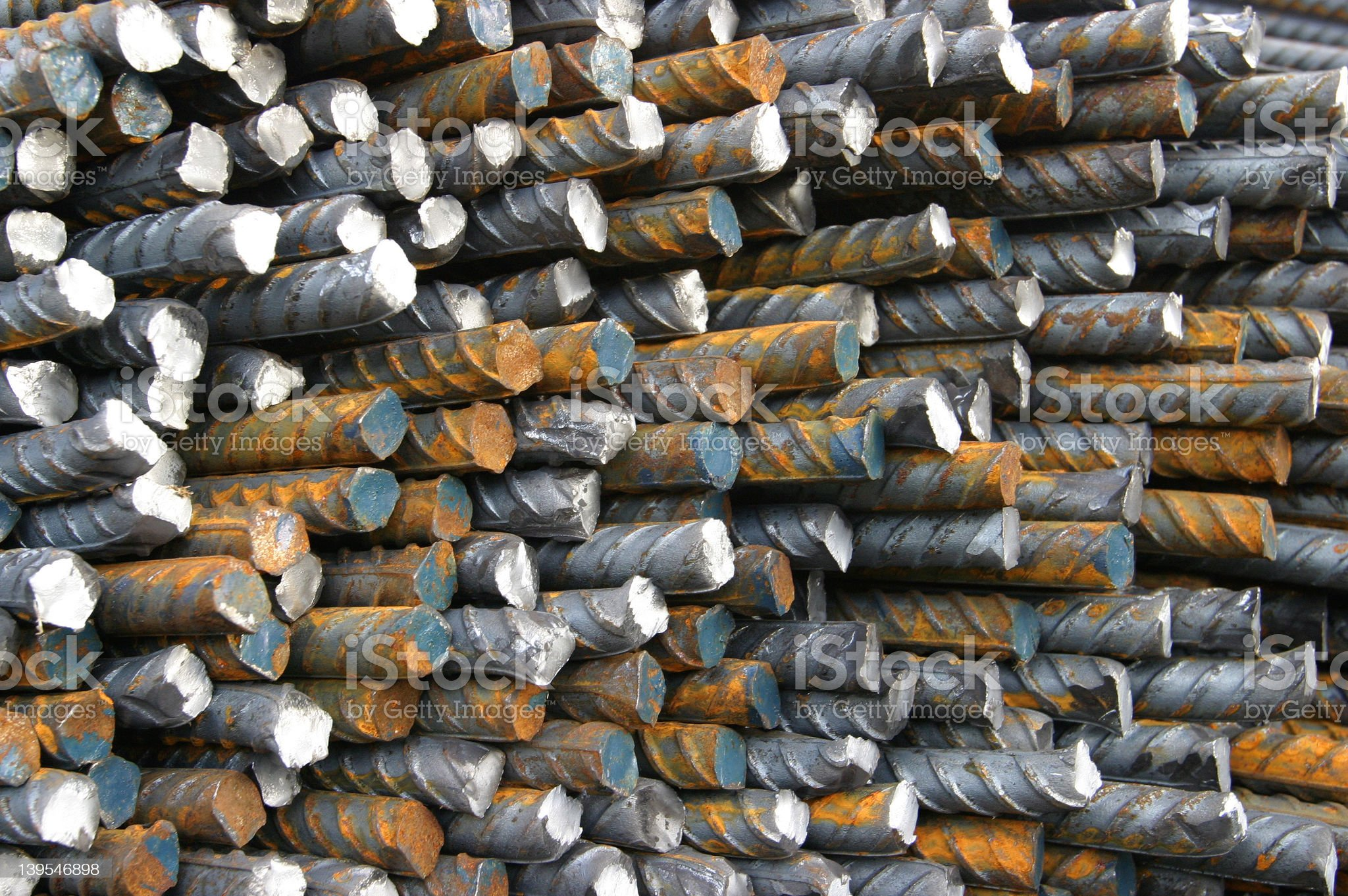 Steel Bars 2 royalty-free stock photo