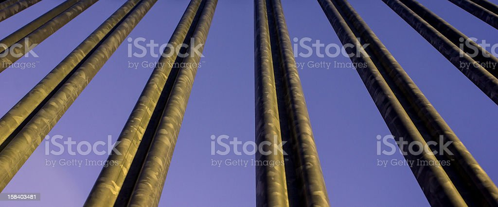 Steel bars royalty-free stock photo