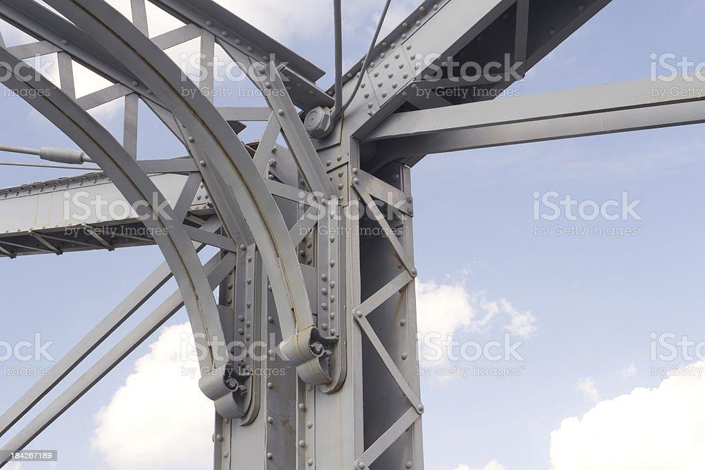 Steel Bridge Detail royalty-free stock photo