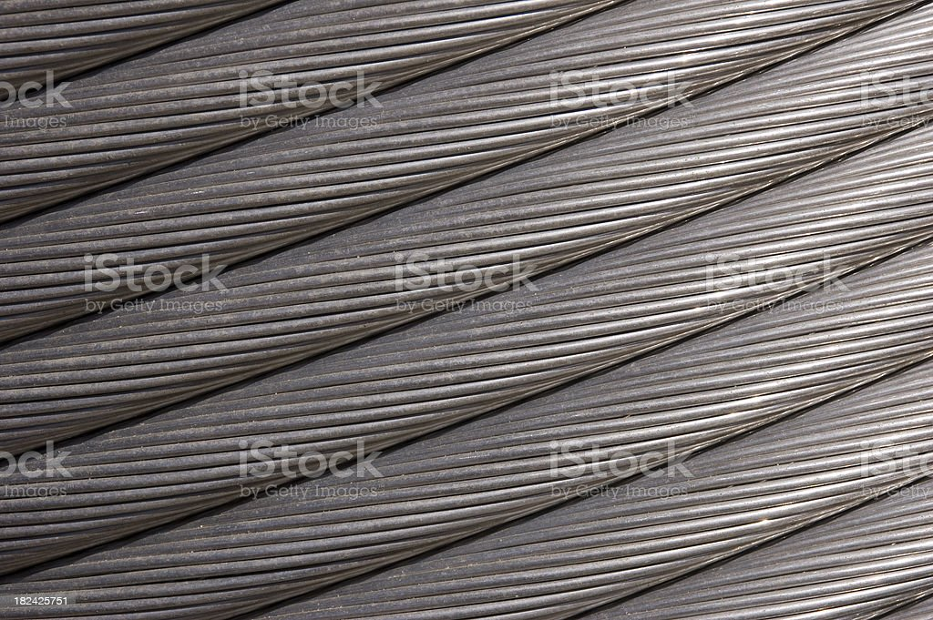 Steel Cable Background royalty-free stock photo
