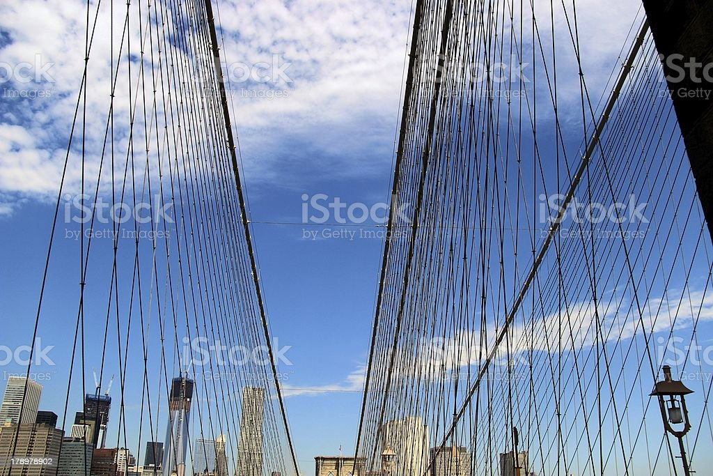 Steel Cables royalty-free stock photo