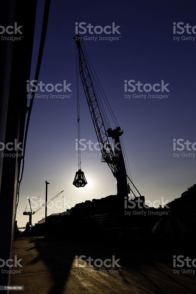 steel claw royalty-free stock photo