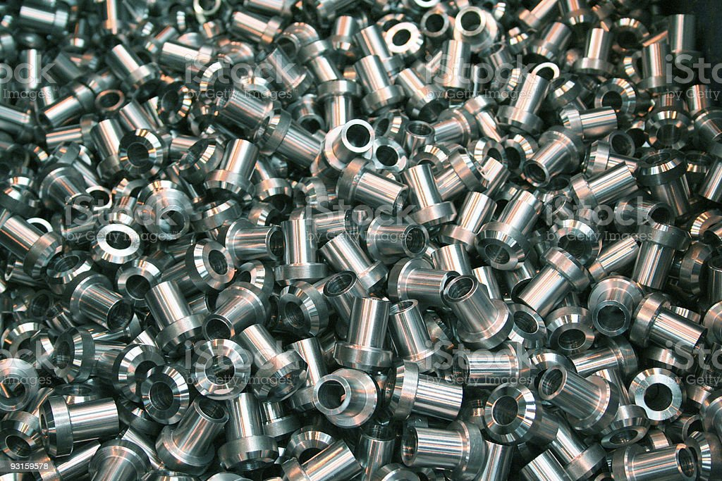 Steel Components royalty-free stock photo