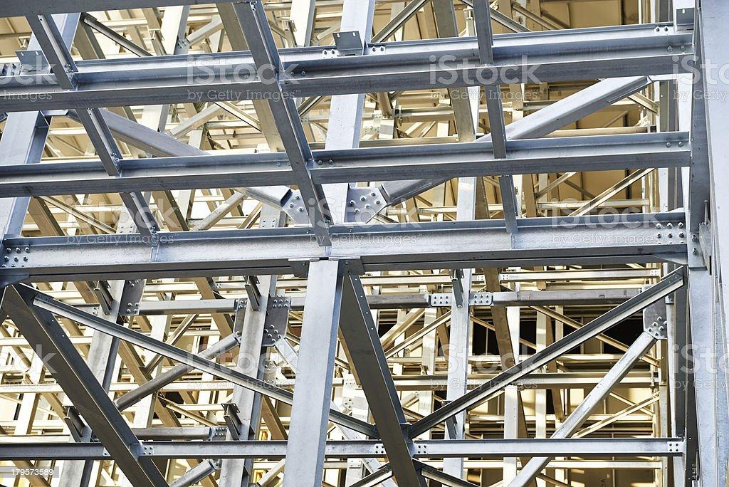Steel Construction royalty-free stock photo