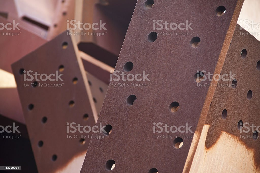 Steel construction royalty-free stock photo