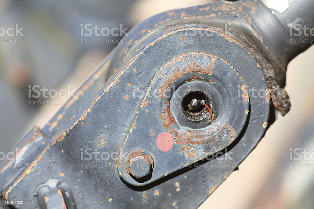 steel construction stock photo