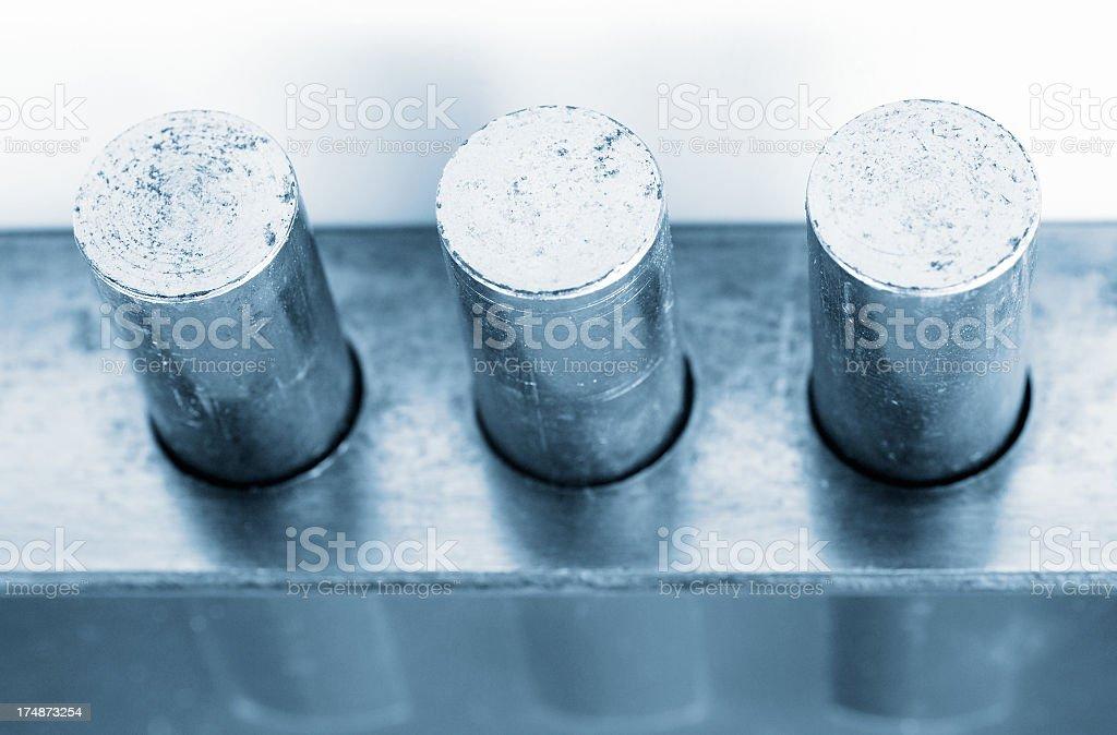 Steel cylinders of lock