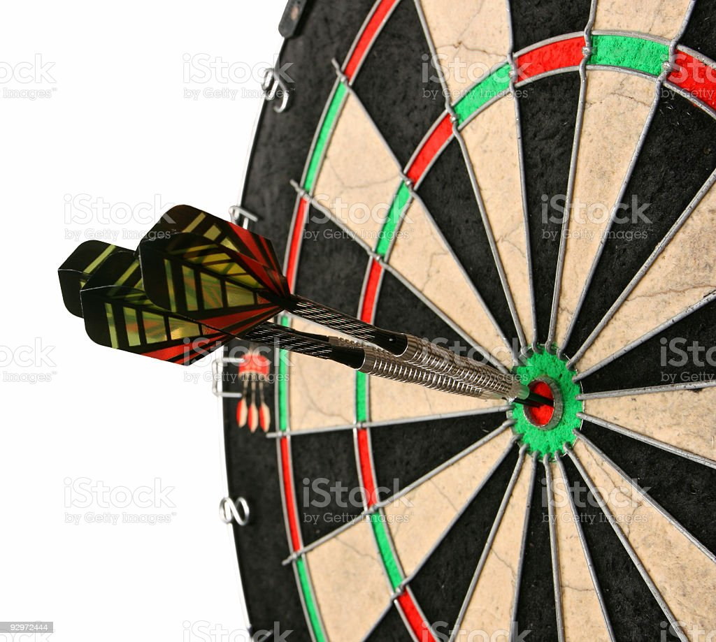 Steel Darts game royalty-free stock photo