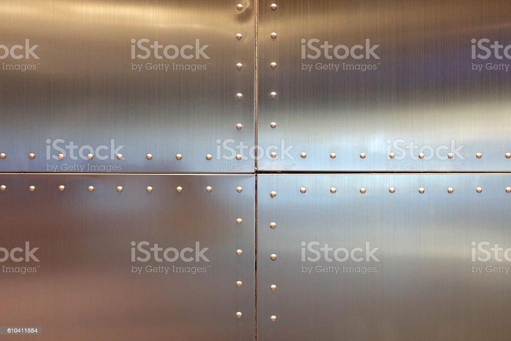 steel design background stock photo