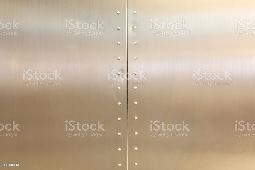 steel design background with nut stock photo