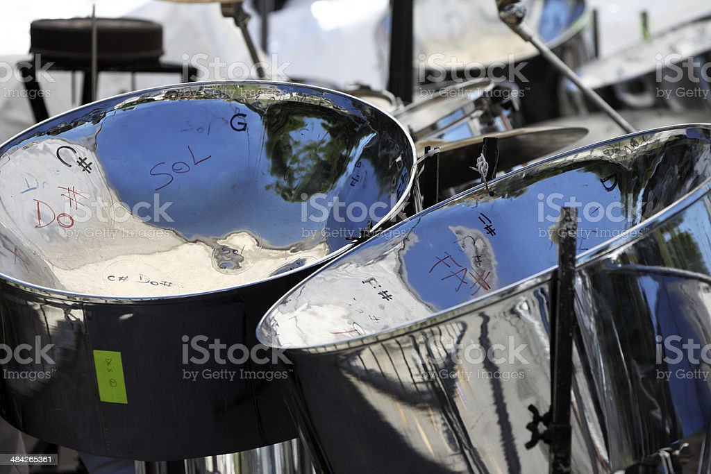 Steel Drums stock photo