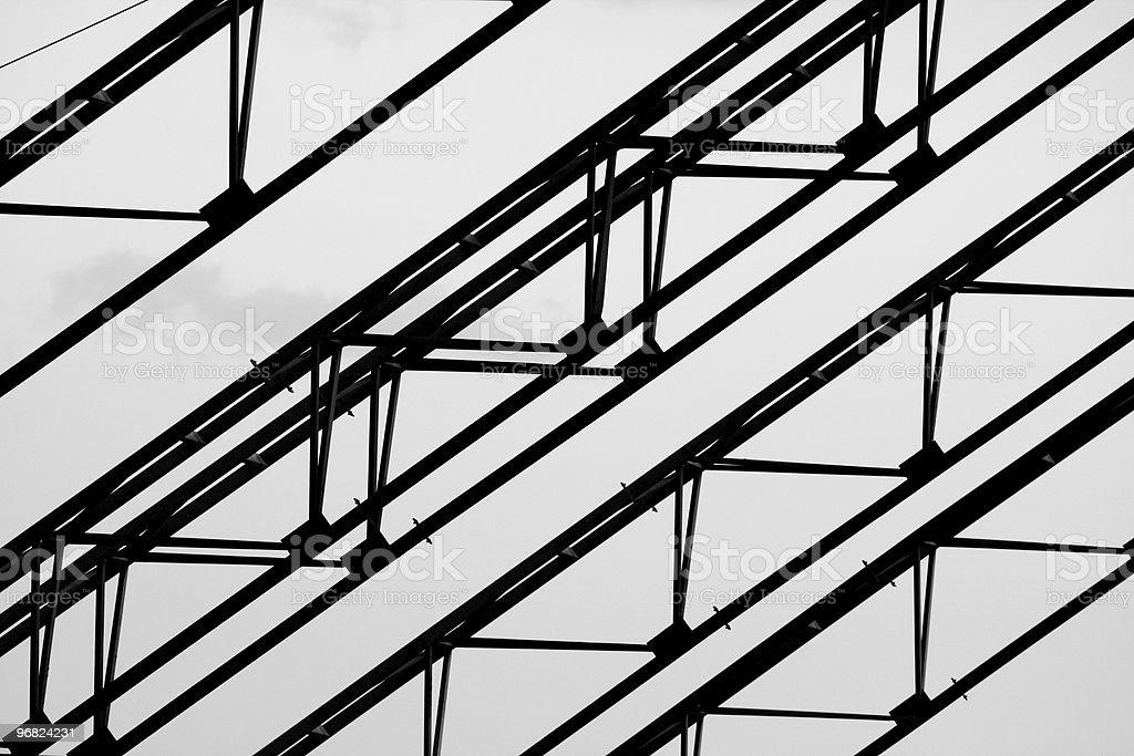 Steel elements stock photo