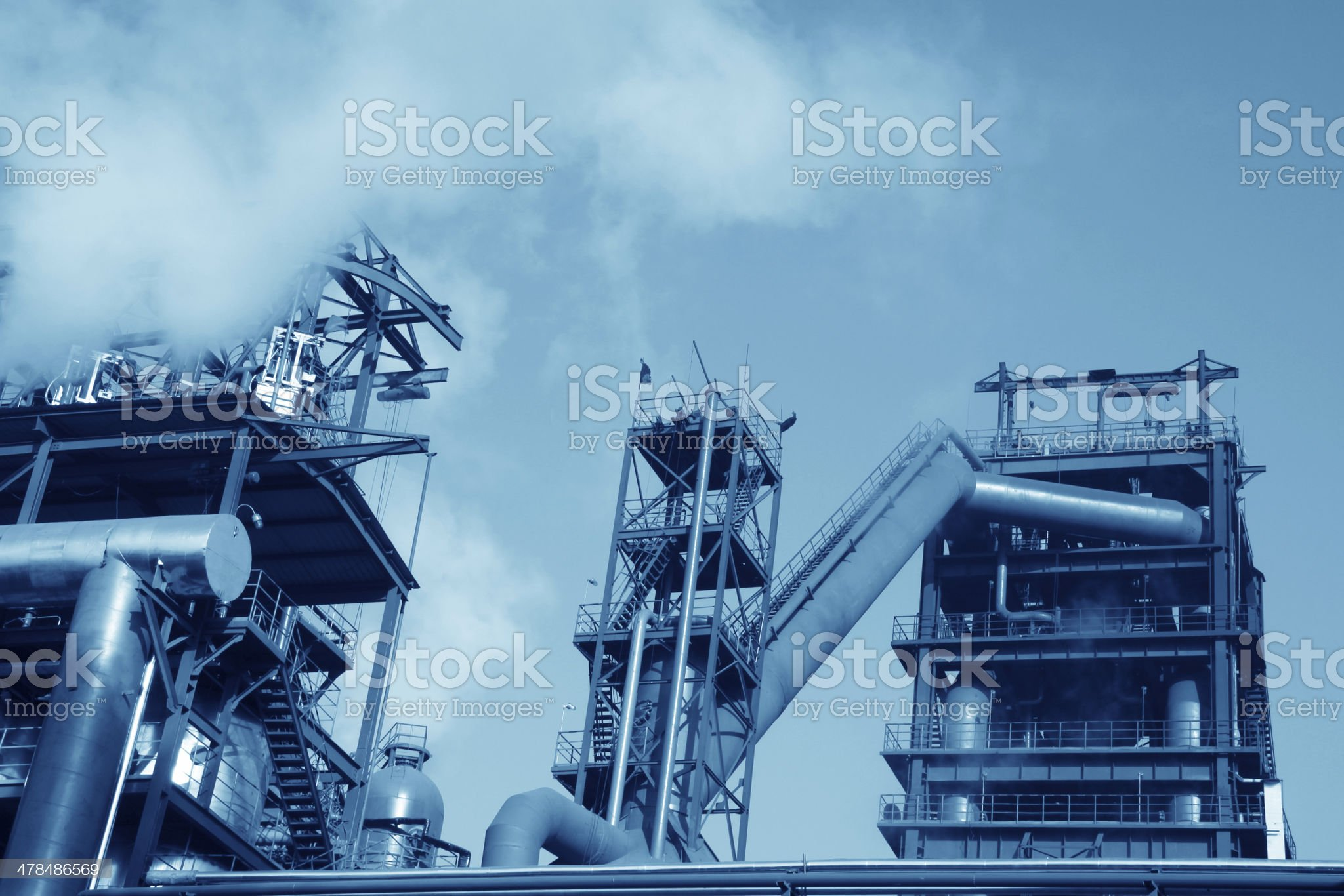 steel enterprise production equipment royalty-free stock photo