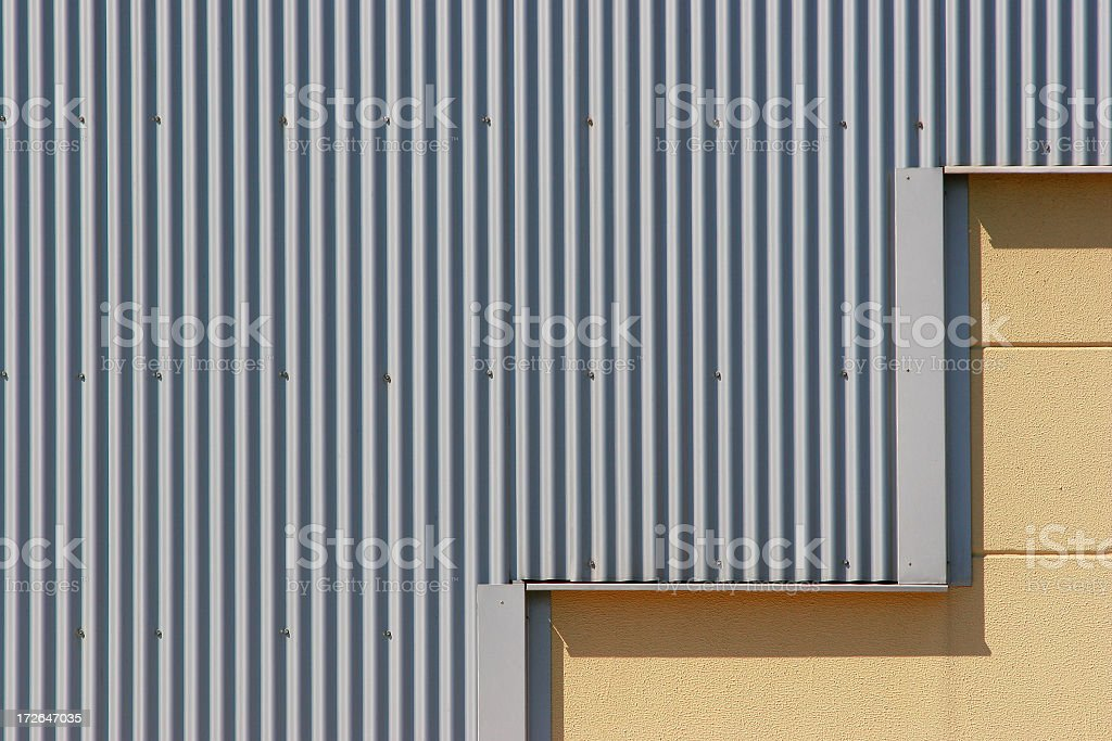 Steel Facing royalty-free stock photo