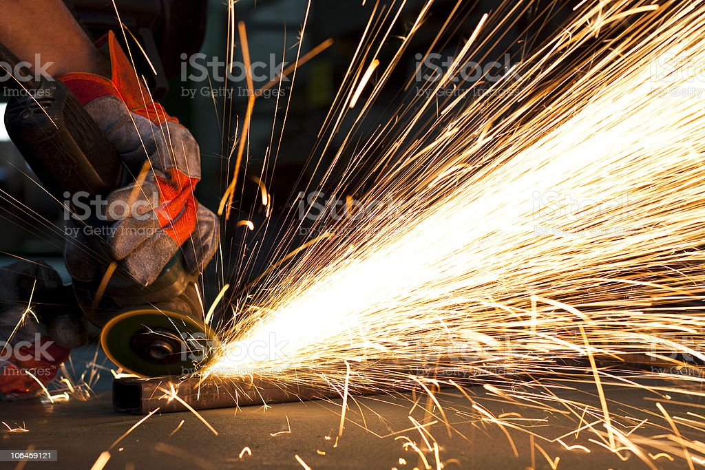 steel factory royalty-free stock photo