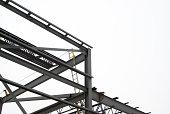 Steel Frame Construction Site