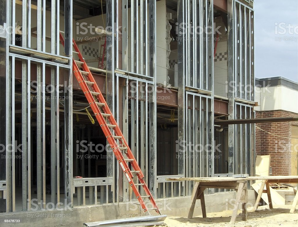 Steel Frame royalty-free stock photo