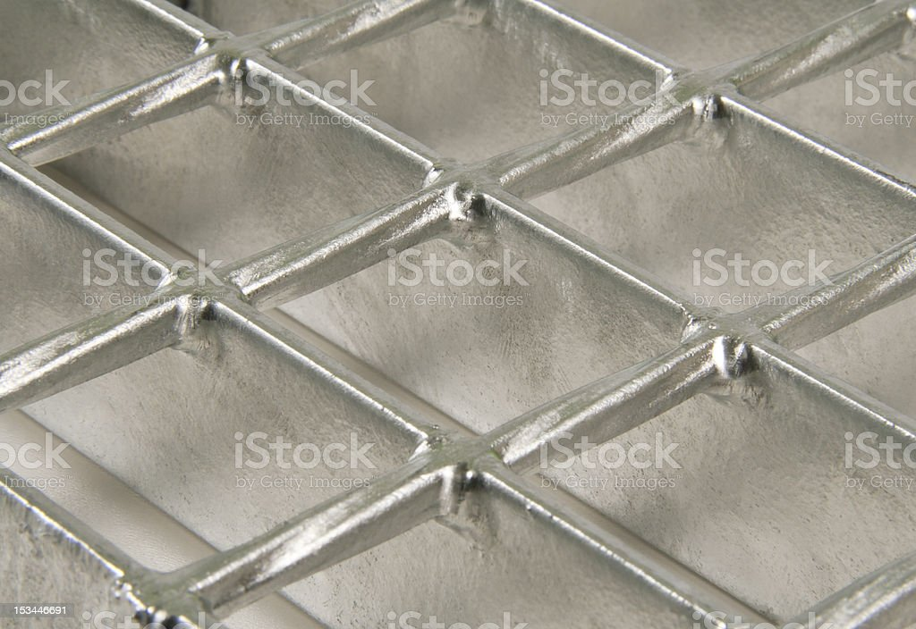 Steel grating royalty-free stock photo