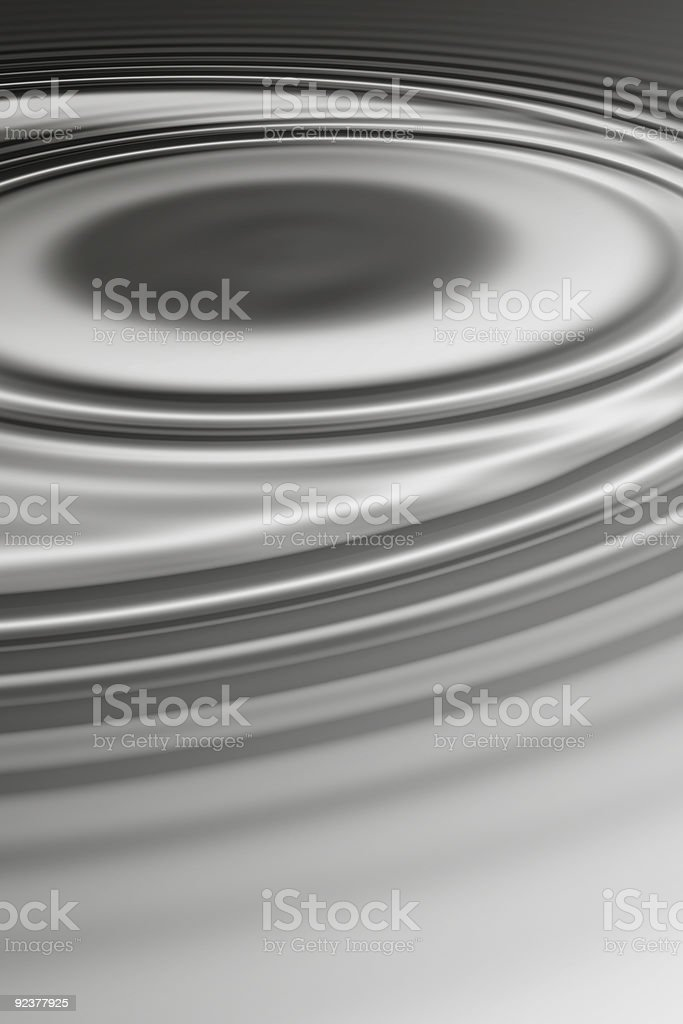 Steel grey ripple royalty-free stock photo