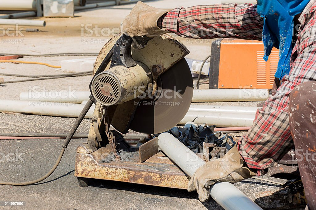 steel grinder stock photo