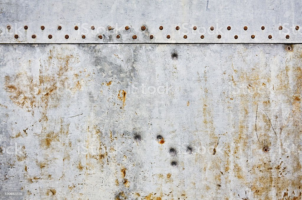 Steel Grunge Wall royalty-free stock photo