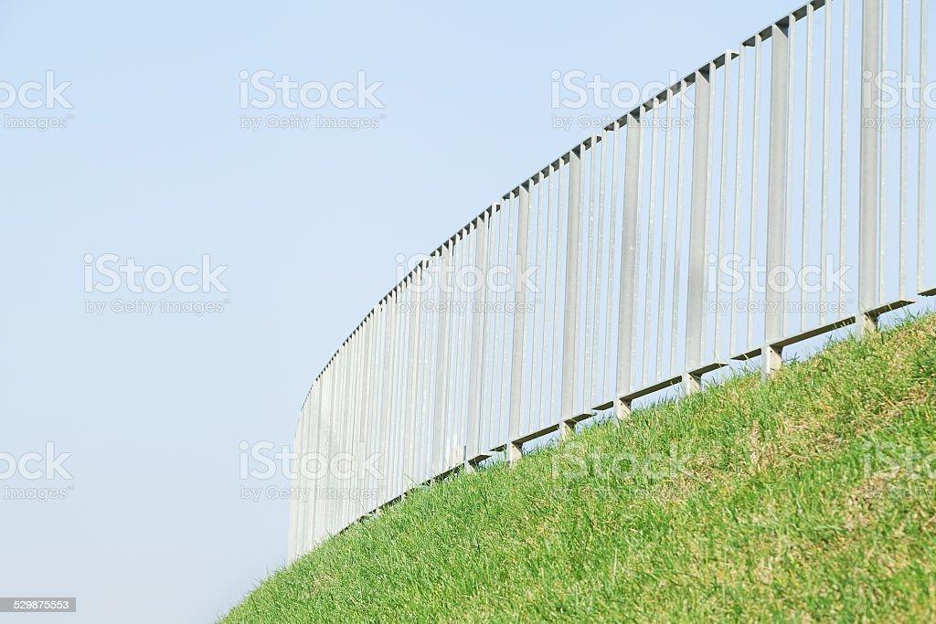 steel guard stock photo
