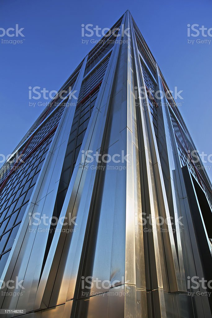 steel highrise royalty-free stock photo