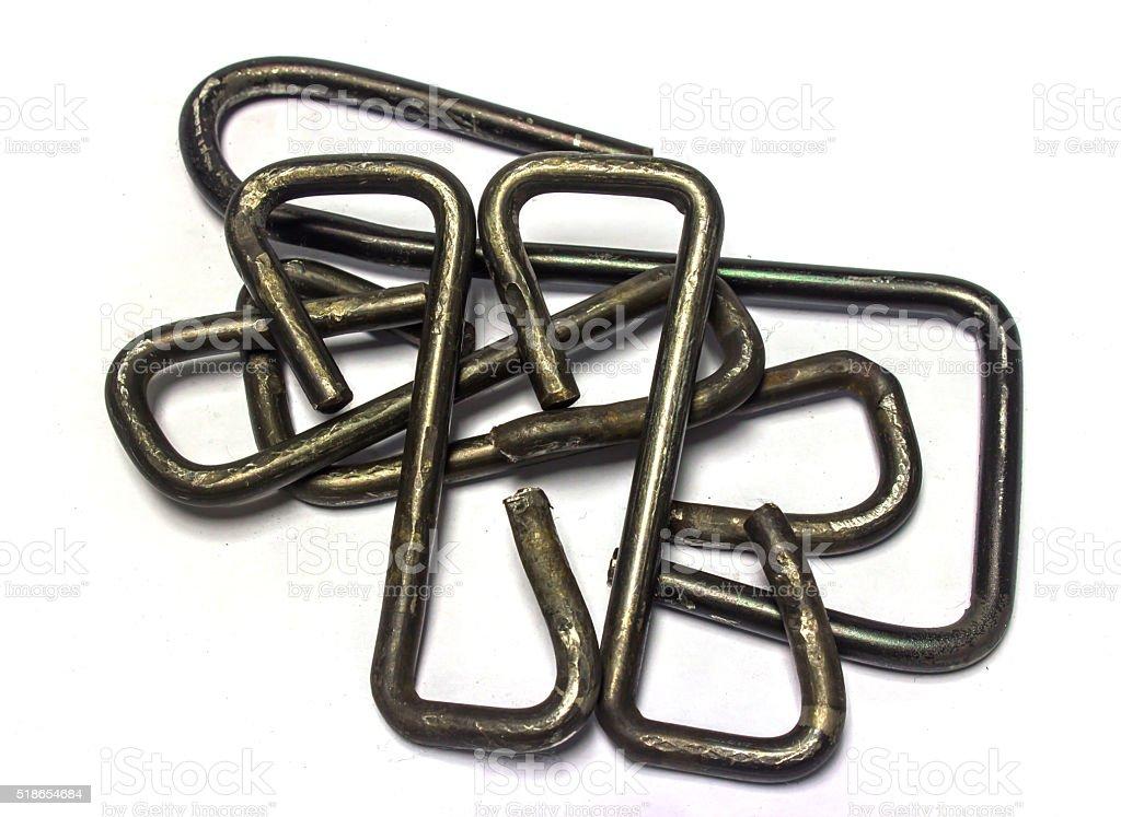 Steel Hook stock photo