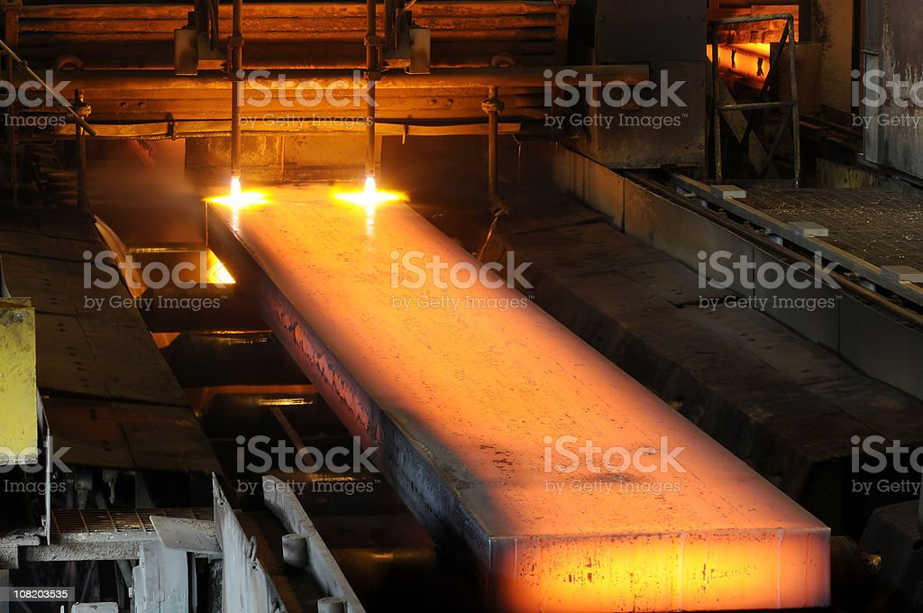 steel industry royalty-free stock photo