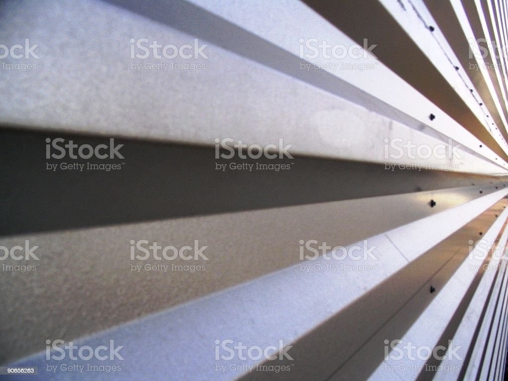 Steel lines 2 royalty-free stock photo