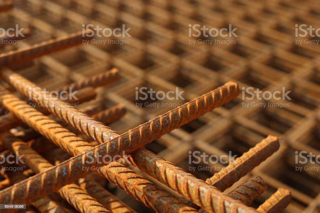 steel mesh, close up image of construction material stock photo