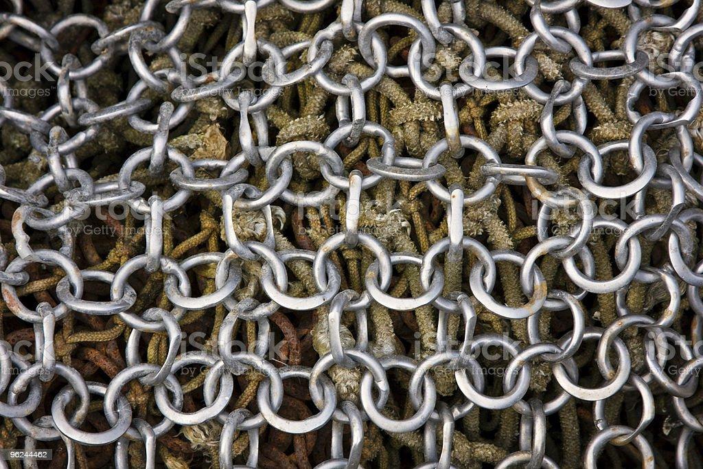 Steel net royalty-free stock photo