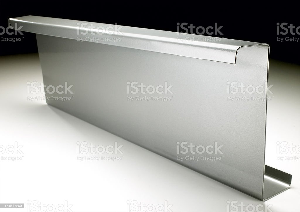 Steel perlin stock photo
