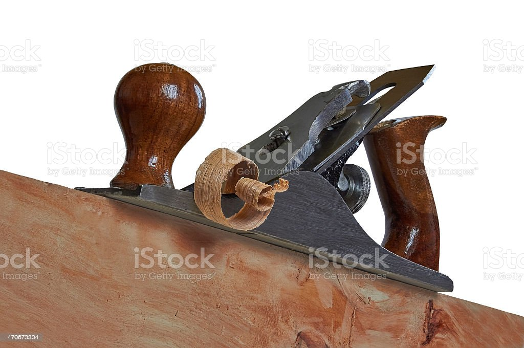 steel planer for wood royalty-free stock photo
