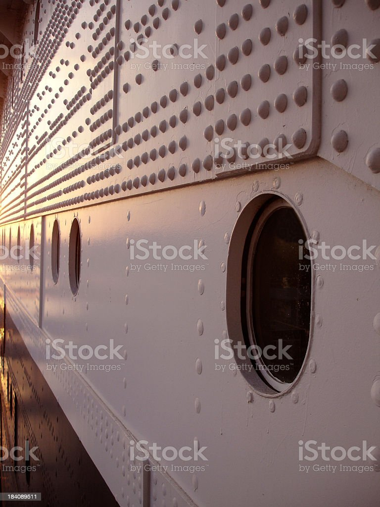 Steel Plate A Perspective royalty-free stock photo