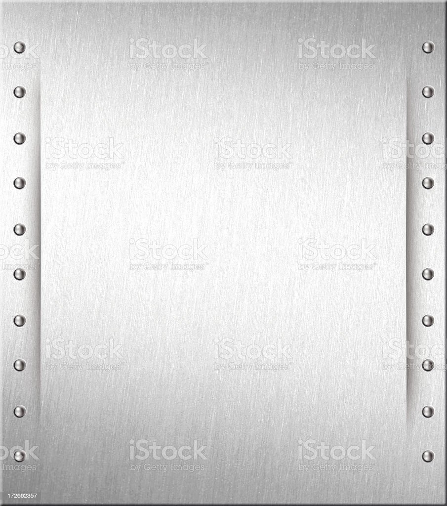 steel plate II stock photo