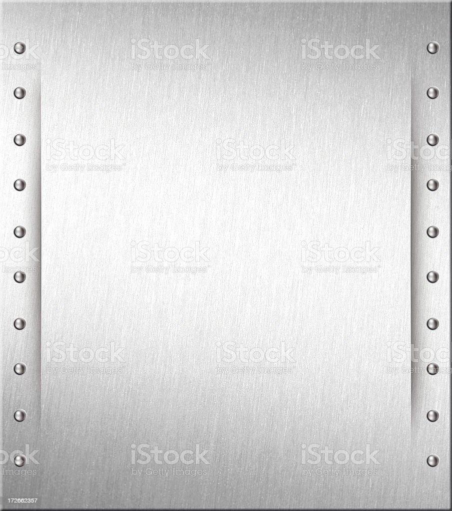 steel plate II stock photo