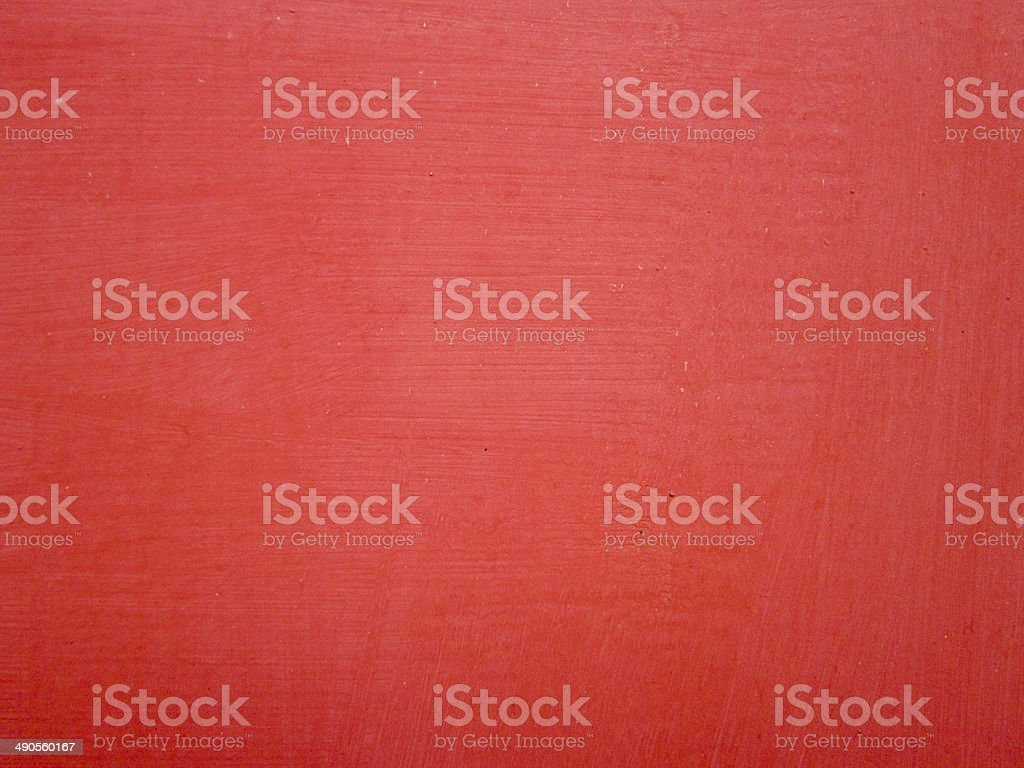 Steel plates painted red stock photo