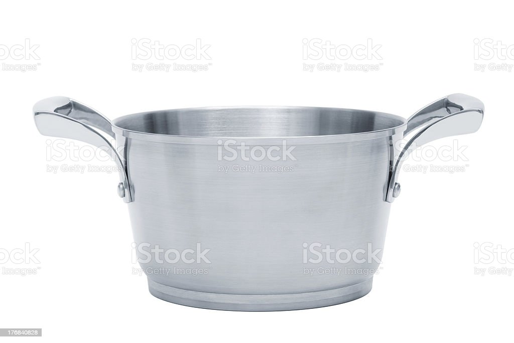 steel saucepan royalty-free stock photo