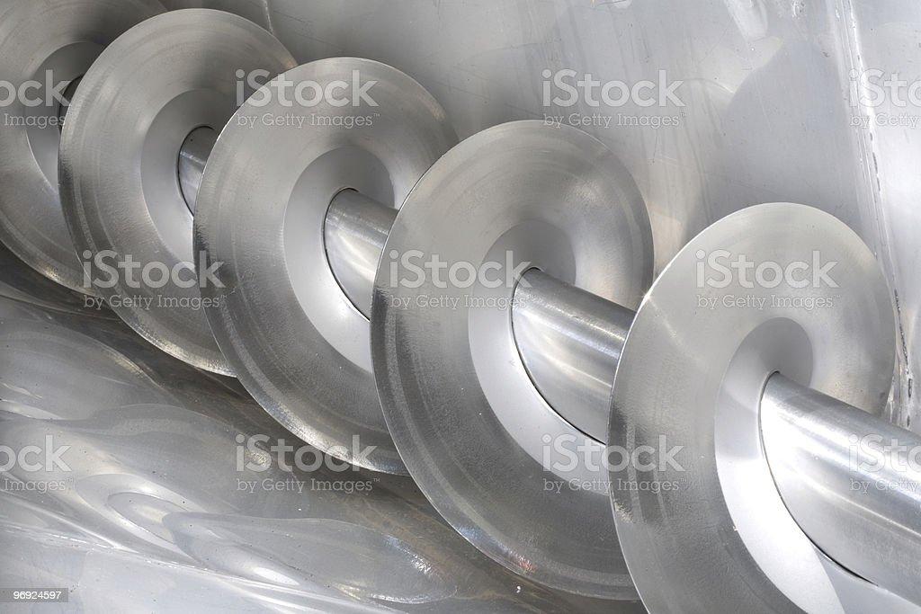 steel screw royalty-free stock photo