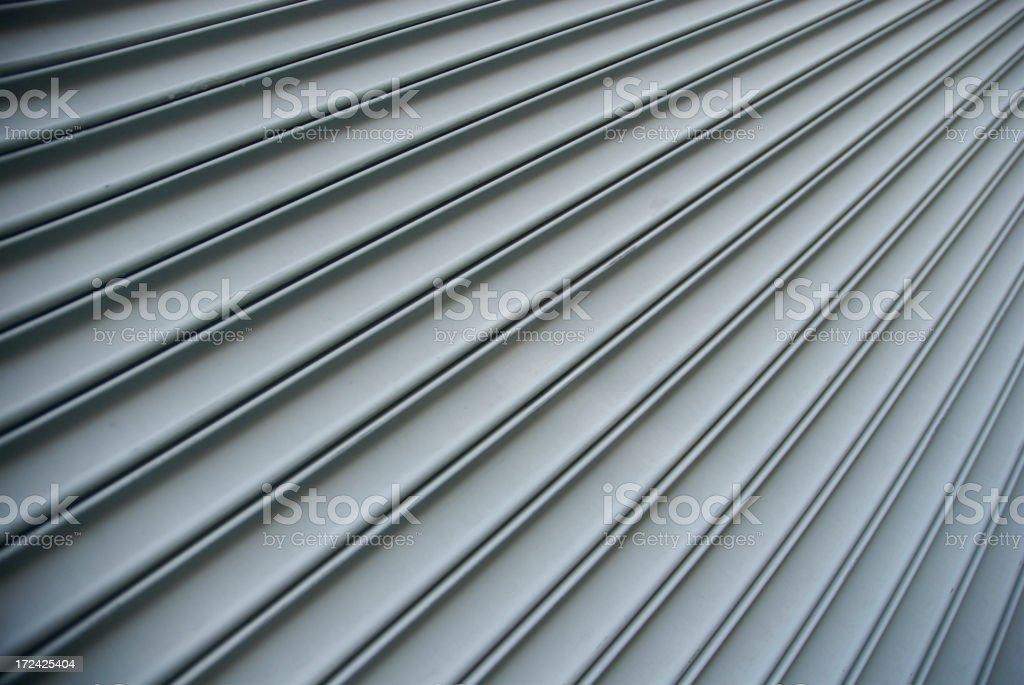 Steel Shutter Lines Background Diagonal Stripe royalty-free stock photo