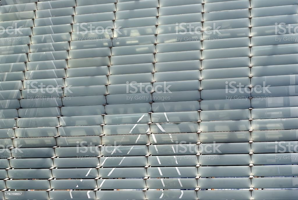 Steel Shutter Lines Background royalty-free stock photo