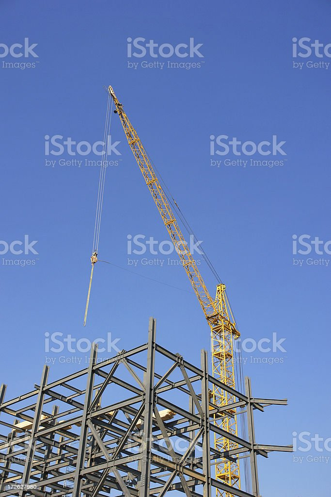steel structure royalty-free stock photo