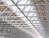Steel structures of roof