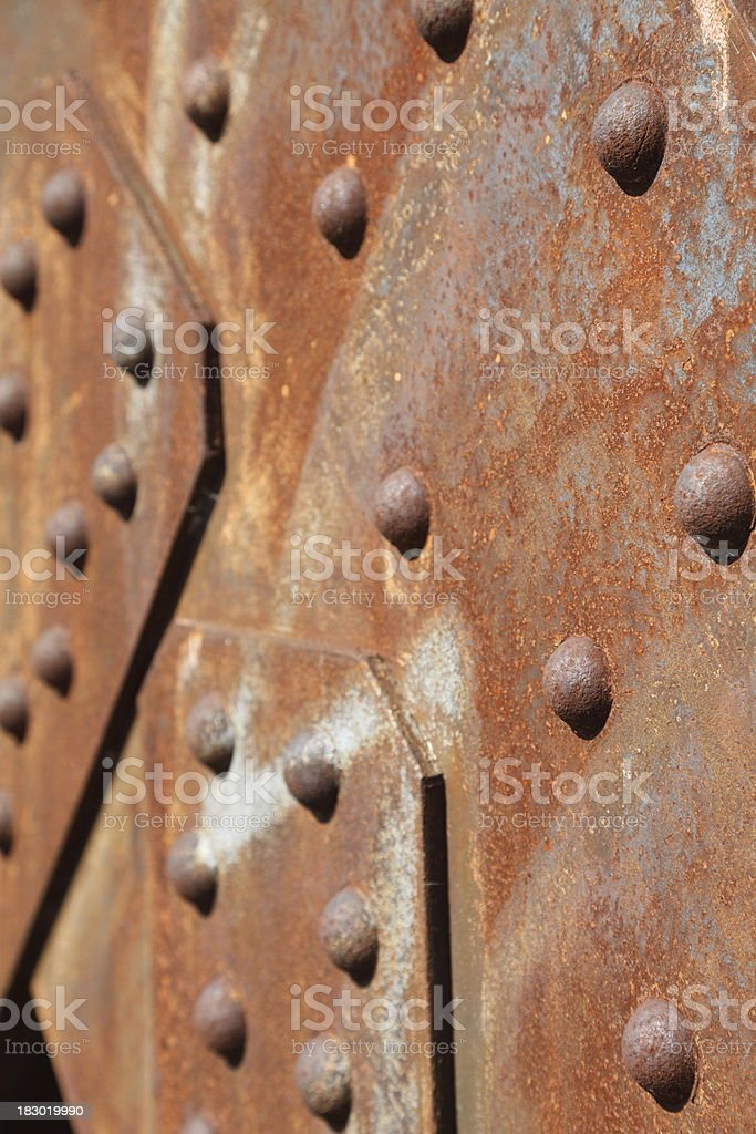 steel surface for background royalty-free stock photo