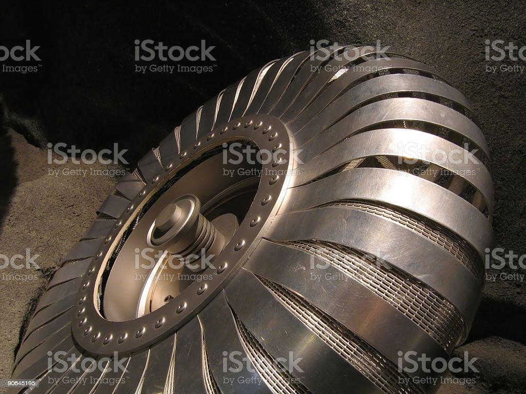 Steel Tire Frame stock photo
