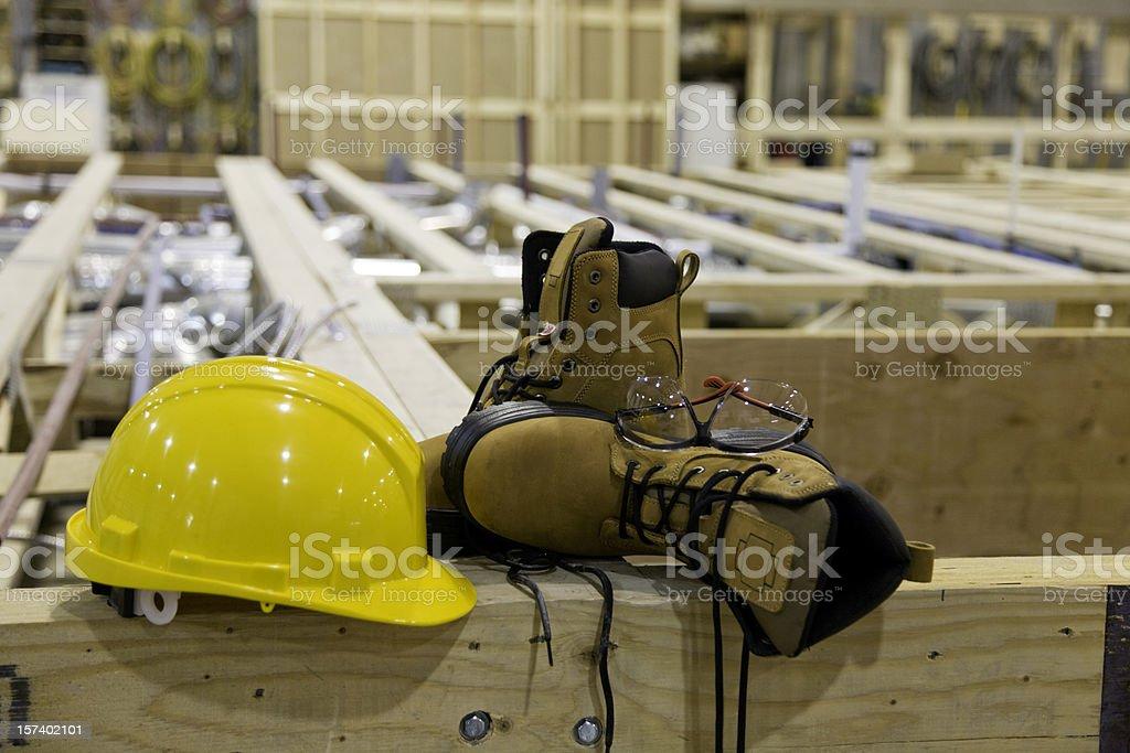 Steel Toe Shoes stock photo