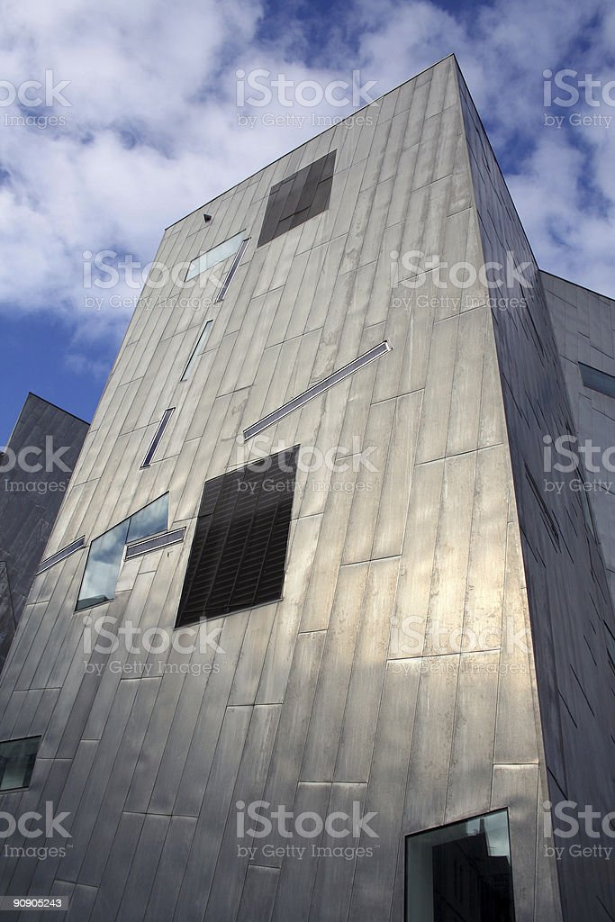 Steel tower royalty-free stock photo